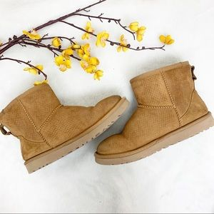 UGGS 7 Boots Short Ankle - Chestnut